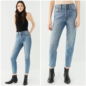 Levi's Wedgie Icon Fit High Waisted Denim Jeans